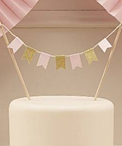 Wedding Pastel Perfection Cake Bunting
