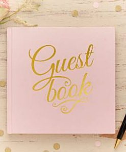 Wedding Pastel Perfection Guest Book