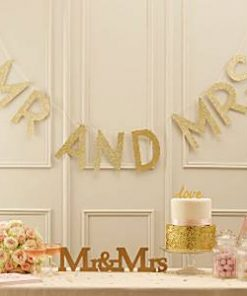 Wedding Pastel Perfection Mr & Mrs Bunting