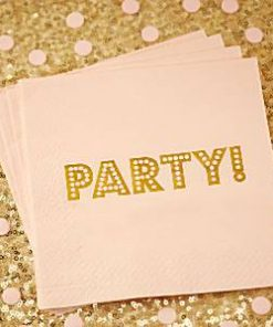 Wedding Pastel Perfection Paper Party Napkins