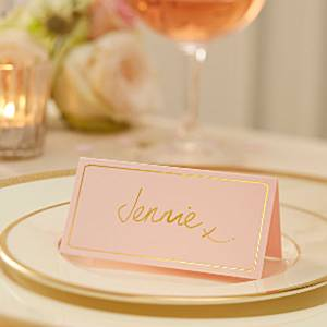 Wedding Pastel Perfection Place Cards