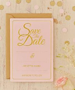 Wedding Pastel Perfection Wedding Save The Date Cards