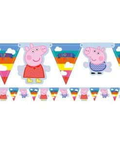 Peppa Pig Party Flag Bunting