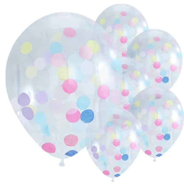 Pick & Mix Party Confetti Latex Balloons