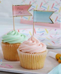 Pick & Mix Party Ombre Cupcake Picks
