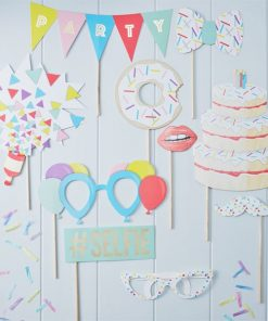 Pick & Mix Party Photobooth Props