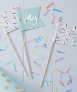 Pick & Mix Party Sprinkles Flags