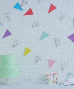 Pick & Mix Party Sprinkles Mini Bunting