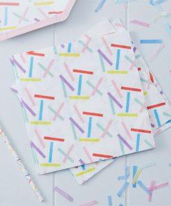 Pick & Mix Party Sprinkles Paper Napkins