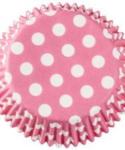 Pink Dot Cupcake Cases
