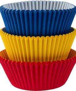 Rainbow Cupcake Cases