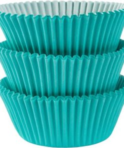 Robins Egg Blue Cupcake Cases