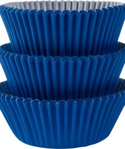 Royal Blue Cupcake Cases