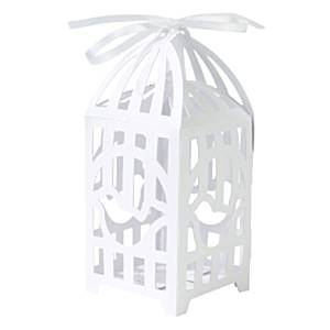 Wedding Something in the Air White Bird Cage Favour Boxes