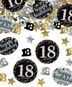 Sparkling Celebration Party Age 18 Confetti