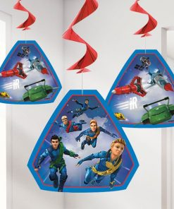 Thunderbirds Party Hanging Decorations