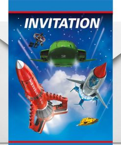 Thunderbirds Party Invitation Cards