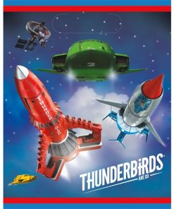 Thunderbirds Party Plastic Loot Bags