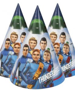 Thunderbirds Party Cone Hats