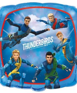 Thunderbirds Party Square Foil Balloon