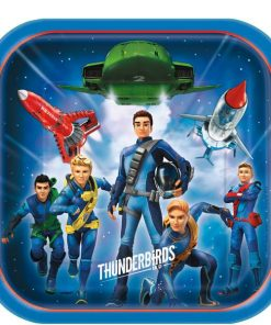 Thunderbirds Party Square Paper Plates