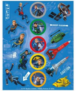 Thunderbirds Party Stickers