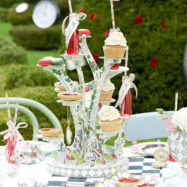 Alice in Wonderland Party Themed Truly Alice Cake Stand