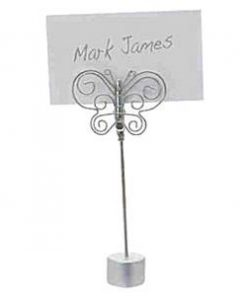 Wedding Butterfly Placecard Holder