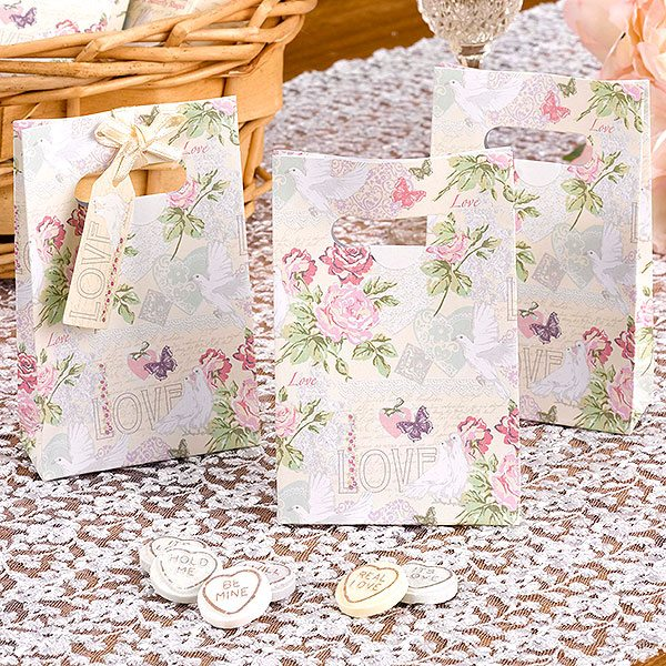 Wedding With Love Favour Bags