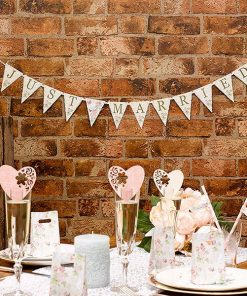 Wedding With Love 'Just Married' Bunting