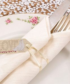 Wedding With Love Small Luggage Tags