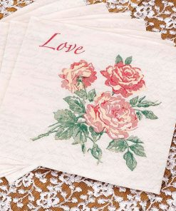 Wedding With Love Napkins
