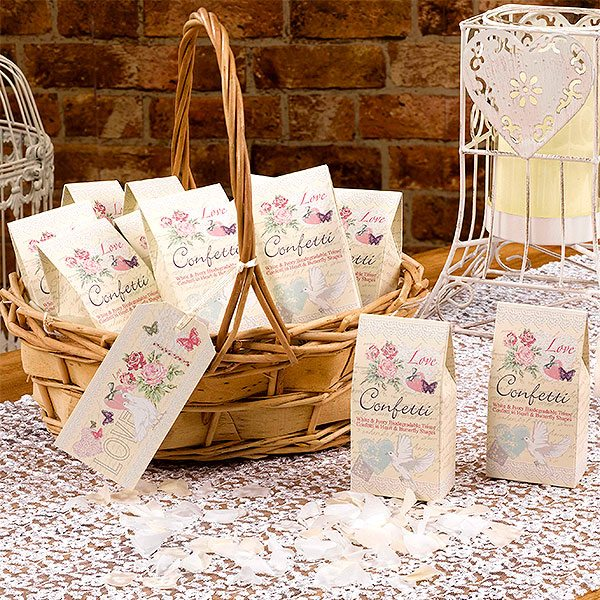 Wedding With Love Tissue Confetti