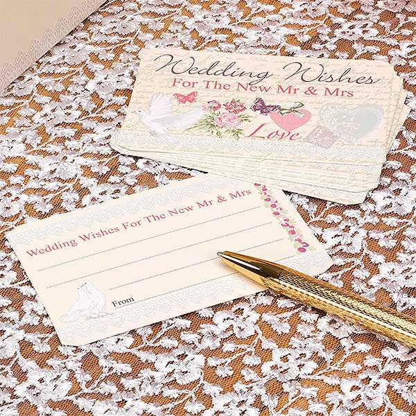 Wedding With Love Wedding Wishes Cards