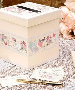 Wedding With Love Wedding Wishes Post Box