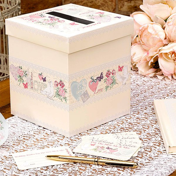 Wedding With Love Wedding Wishes Post Box