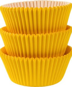 Yellow Cupcake Cases