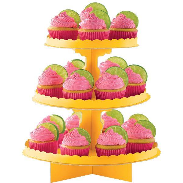 Yellow Cupcake Stand