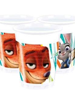 Zootropolis Party Plastic Party Cups