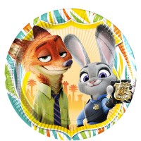 Buy Zootropolis themed party supplies, plates & Balloons in stock in the uk