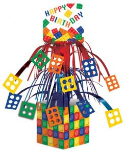 Block Party Bag Table Centrepiece