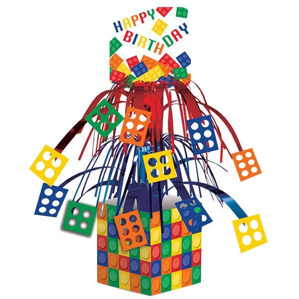 Block Party Bag Table Centrepiece