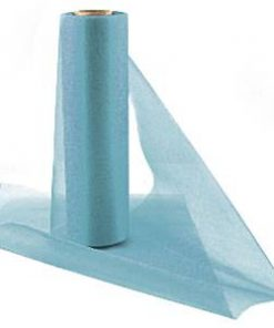 Blue Organza Sheer Roll