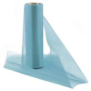 Blue Organza Sheer Roll