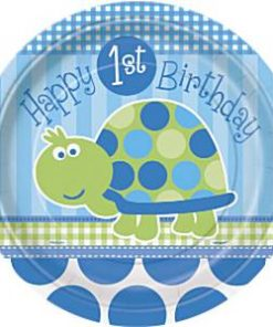 Blue Turtle 1st Birthday Party
