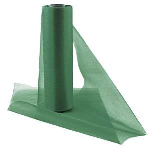 Bottle Green Organza Sheer Roll - 25m