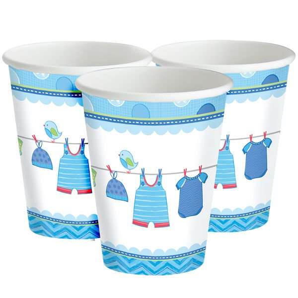 Boy's Shower With Love Cups