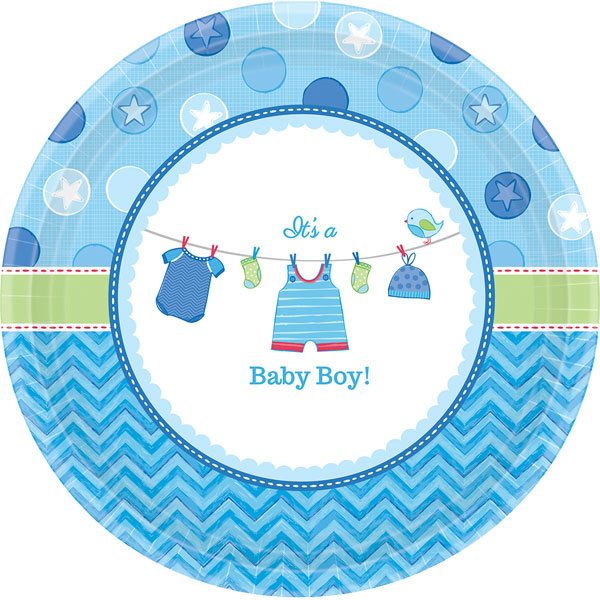 Buy Boy's Shower With Love Party Supplies, Decorations & Balloons in the uk