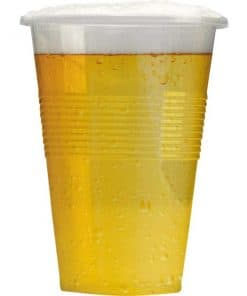 Clear Plastic Pint Glass