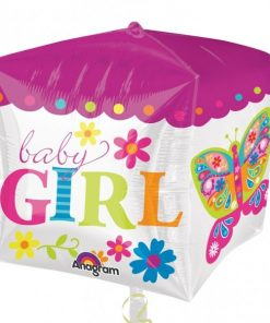 Cubez Beautiful Baby Girl Foil Balloon